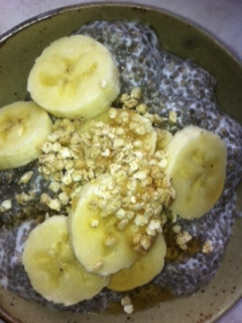 Chia Pudding for Fertility